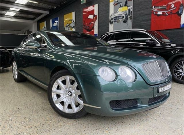 Used Bentley Continental GT Glebe, 2004 Bentley Continental GT Green Metallic Sports Automatic Coupe