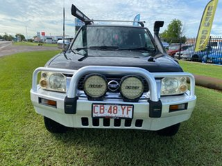 2004 Nissan Navara D22 MY2003 ST-R Black 5 Speed Manual Utility.