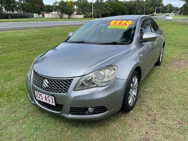 Used Suzuki Kizashi FR MY11 Prestige Clontarf, 2012 Suzuki Kizashi FR MY11 Prestige Grey 6 Speed Manual Sedan