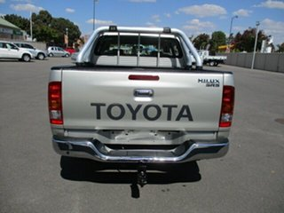 2005 Toyota Hilux GGN15R MY05 SR5 4x2 Gold 5 Speed Manual Utility