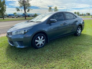 2015 Toyota Corolla ZRE172R Ascent S-CVT Grey 7 Speed Constant Variable Sedan.