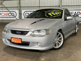 2003 Ford Falcon BA XR8 Ute Super Cab Silver 4 Speed Sports Automatic Utility.