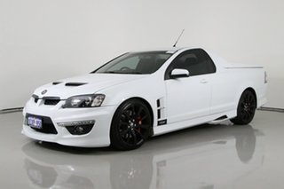2012 Holden Special Vehicles Maloo E3 MY12.5 R8 Heron White 6 Speed Automatic Utility.