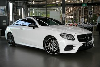 2017 Mercedes-Benz E-Class C238 E300 9G-Tronic PLUS White 9 Speed Sports Automatic Coupe.