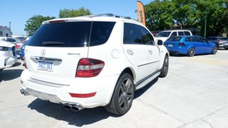 2008 Mercedes-Benz M-Class W164 MY09 ML63 AMG White 7 Speed Sports Automatic Wagon