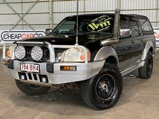 2005 Nissan Navara D22 S2 ST-R Black 5 Speed Manual Utility.
