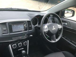 2015 Mitsubishi Lancer CJ MY15 ES Sport White 6 Speed CVT Auto Sequential Sedan.