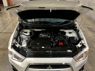 2013 Mitsubishi ASX XB MY13 Aspire 2WD White 6 Speed Constant Variable Wagon