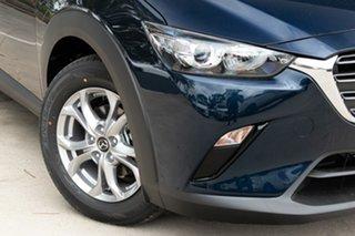 2021 Mazda CX-3 CX-3 F 6AUTO MAXX SPORT PETROL FWD Deep Crystal Blue Wagon.