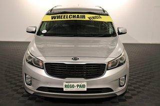 2015 Kia Carnival YP MY16 SI Silver 6 speed Automatic Wagon.