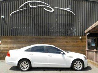 2009 Holden Statesman WM MY09.5 White 5 Speed Sports Automatic Sedan.