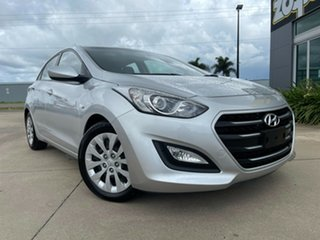 2015 Hyundai i30 GD3 Series II MY16 Active DCT Silver/160915 7 Speed Sports Automatic Dual Clutch.
