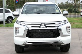2021 Mitsubishi Pajero Sport QF MY21 Exceed White 8 Speed Sports Automatic Wagon