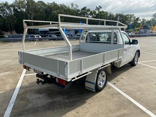 2008 Mazda BT-50 B2500 DX White 5 Speed Manual Cab Chassis.