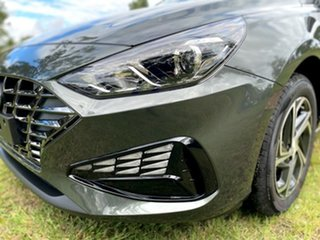 2021 Hyundai i30 PD.V4 MY21 Amazon Gray 6 Speed Manual Hatchback.