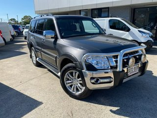 2018 Mitsubishi Pajero NX MY18 Exceed Grey 5 Speed Sports Automatic Wagon.