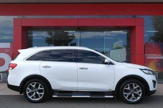 2016 Kia Sorento UM MY16 Platinum AWD White 6 Speed Sports Automatic Wagon.