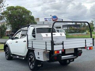 2008 Mitsubishi Triton ML GLX White 5 Speed Manual Utility
