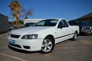 2006 Ford Falcon BF XL (LPG) SE White 4 Speed Auto Seq Sportshift Utility.