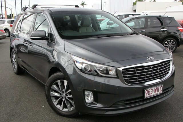 Used Kia Carnival YP MY15 SLi Mount Gravatt, 2015 Kia Carnival YP MY15 SLi Grey 6 Speed Sports Automatic Wagon