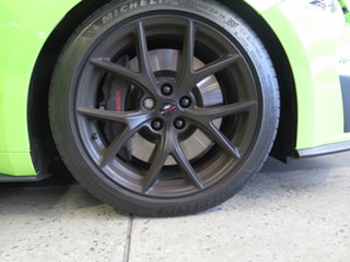 2020 Ford Mustang FN MY20 R-Spec Black & Lime Green 6 Speed Manual Fastback