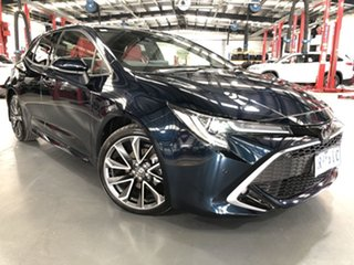 2020 Toyota Corolla Mzea12R ZR Peacock Black 10 Speed Constant Variable Hatchback.