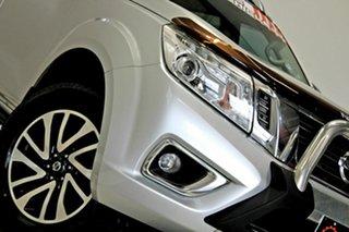 2017 Nissan Navara D23 Series II ST-X (4x4) Silver 7 Speed Automatic Dual Cab Utility.