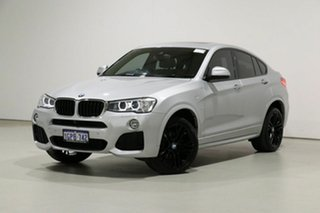 2018 BMW X4 F26 MY16 xDrive 20D Silver 8 Speed Automatic Coupe.