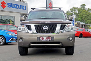 2012 Nissan Patrol Y62 TI Bronze 7 Speed Sports Automatic Wagon.