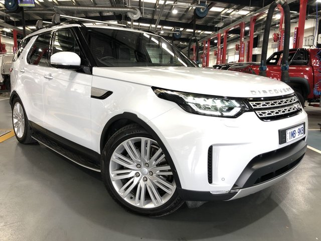 Pre-Owned Land Rover Discovery MY17 HSE Luxury Oakleigh, 2017 Land Rover Discovery MY17 HSE Luxury White 8 Speed Automatic Wagon
