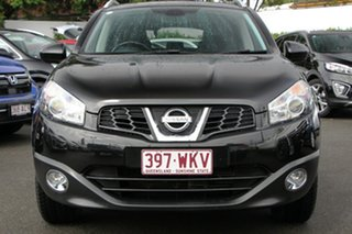 2010 Nissan Dualis J10 MY2009 Ti X-tronic AWD Black 6 Speed Constant Variable Hatchback