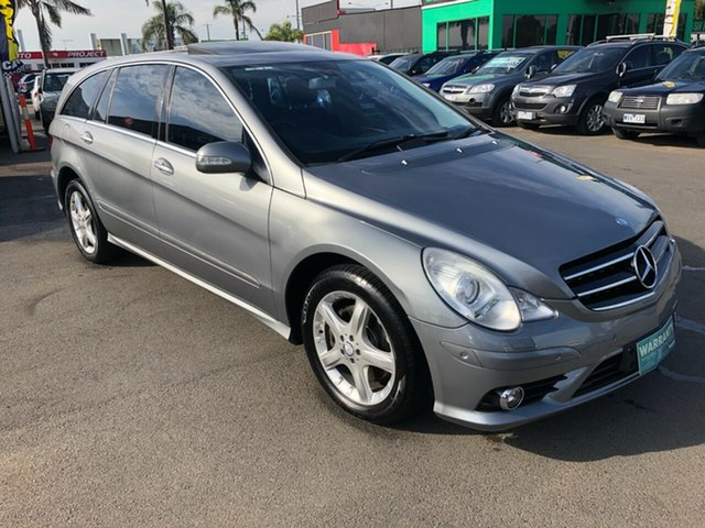 Used Mercedes-Benz R 251 MY10 350 CDI Luxury (AWD) Cheltenham, 2010 Mercedes-Benz R 251 MY10 350 CDI Luxury (AWD) Silver 7 Speed Automatic G-Tronic Wagon