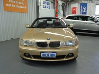 2003 BMW 3 Series E46 MY2002 330Ci Steptronic Gold 5 Speed Sports Automatic Convertible.