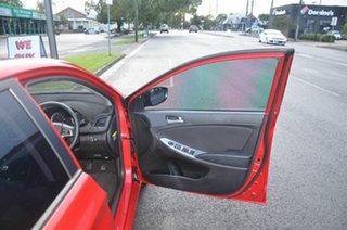 2017 Hyundai Accent RB6 MY18 Sport Red 6 Speed Manual Sedan