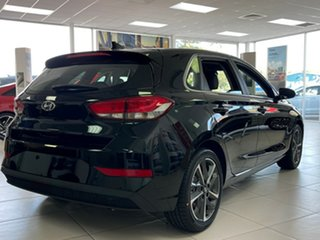 2020 Hyundai i30 PD.V4 MY21 Active Phantom Black 6 Speed Sports Automatic Hatchback.
