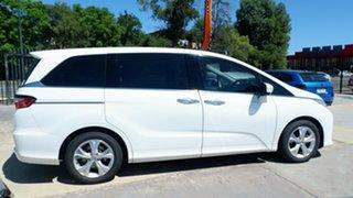 2014 Honda Odyssey RC MY14 VTi White 7 Speed Constant Variable Wagon