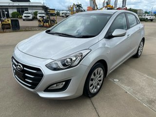 2015 Hyundai i30 GD3 Series II MY16 Active DCT Silver/160915 7 Speed Sports Automatic Dual Clutch