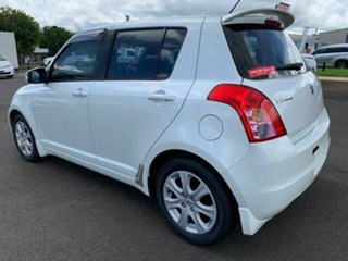 2009 Suzuki Swift EZ 07 Update White 5 Speed Manual Hatchback