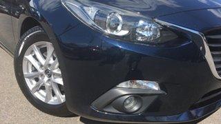 2015 Mazda 3 BM5476 Touring SKYACTIV-MT Blue 6 Speed Manual Hatchback.