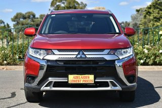 2019 Mitsubishi Outlander ZL MY20 ES AWD Red 6 Speed Constant Variable Wagon.