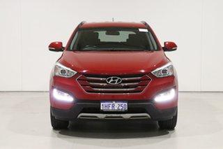 2014 Hyundai Santa Fe DM Active CRDi (4x4) Red 6 Speed Automatic Wagon.