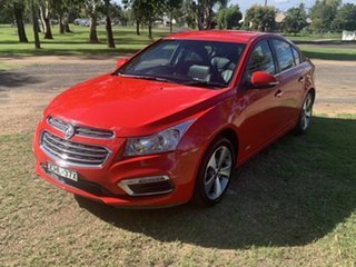 2016 Holden Cruze JH Series II MY16 Z-Series Red 6 Speed Sports Automatic Sedan.