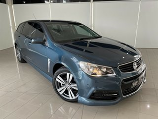 2014 Holden Commodore VF MY14 SV6 Sportwagon Blue 6 Speed Sports Automatic Wagon.