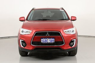 2016 Mitsubishi ASX XB MY15.5 LS (2WD) Red Continuous Variable Wagon.