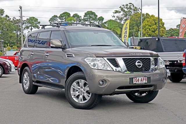 Used Nissan Patrol Y62 TI Chandler, 2012 Nissan Patrol Y62 TI Bronze 7 Speed Sports Automatic Wagon