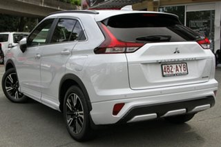 2021 Mitsubishi Eclipse Cross YB MY21 Exceed AWD White Diamond 8 Speed Constant Variable Wagon.