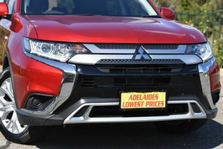 2019 Mitsubishi Outlander ZL MY20 ES AWD Red 6 Speed Constant Variable Wagon