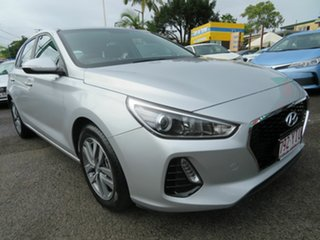 2018 Hyundai i30 PD MY18 Active Silver 6 Speed Manual Hatchback.