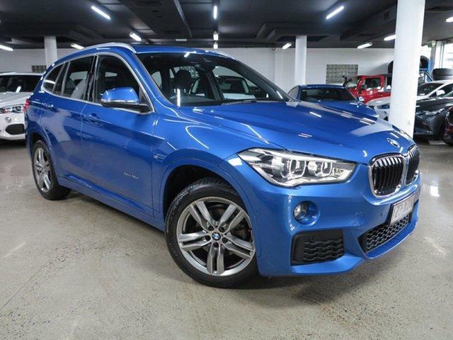 Used BMW X1 F48 sDrive18d Steptronic Albion, 2017 BMW X1 F48 sDrive18d Steptronic Estoril Blue 8 Speed Sports Automatic Wagon