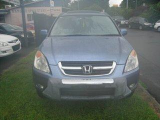 2003 Honda CR-V MY03 (4x4) Sport Blue 4 Speed Automatic Wagon.